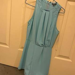 SHEIKE Blue Playsuit In Size8