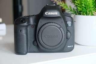 Canon 5D iii + 24-70 2.8 ii + 85 1.2 ii + MORE
