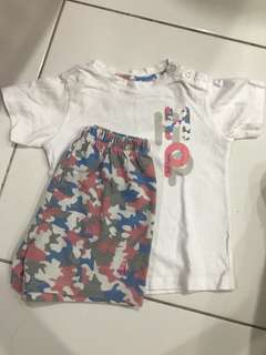 HP baby shirt and pants