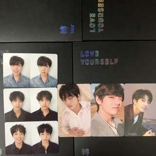 wts/wtt BTS LOVE YOURSELF HER PHOTOCARDS