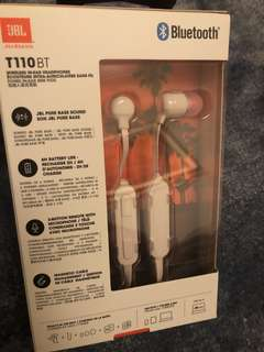 New JBL wireless in-ear headphone