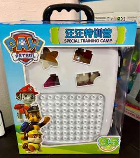 Paw patrol building blocks
