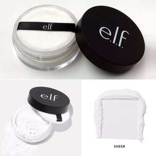 🚚 e.l.f. elf Studio HD Powder Corrective Yellow / Sheer / Soft Luminance