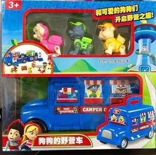 Paw patrol camper bus