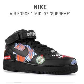 Air Force 1 Mid 07 Supreme UA 1:1