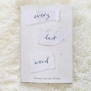 USED BOOK Every Last Word