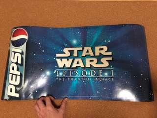 Pepsi Star War Episode 1 Poster