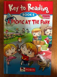 Robin Key to Reading Book 5 A Picnic At The Park