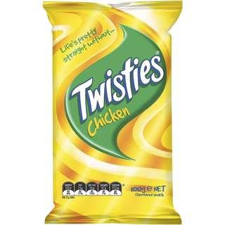 澳洲 Twisties 雞味條