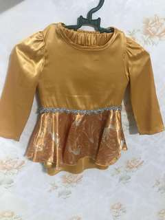 Offer Baju Kurung Peplum (satin)