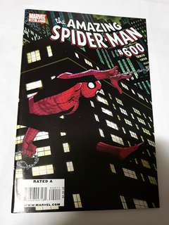 AMAZING SPIDER-MAN 600 MARVEL COMICS