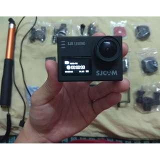Original SJ CAM SJ 6 Legend Full Set Black SJCam