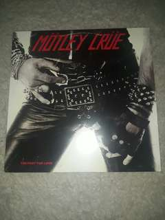 "Motley Crue - Too Fast For Love 12"" LP Grey"