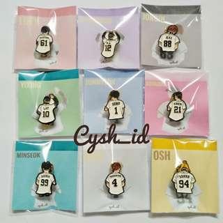 EXO'S Enamel Pin by cysh_id