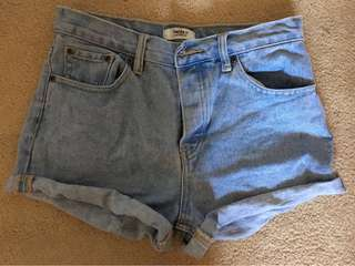 Forever 21 Denim High Waisted Shorts
