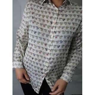 Cute Korean Button-up Shirt