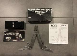 SOG Pocket Powerpiler Multi-tool