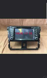 Toyota Vios 13-18 Oem Head Unit
