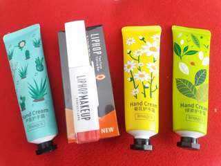 Handcream import China