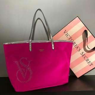 Victoria's Secret Tote Bag Pink
