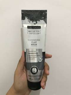 Freeman Beauty Infusion Cleansing Clay Mask Charcoal + Probiotics