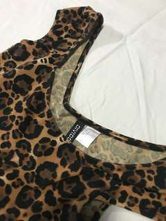 Leopard inspired dress