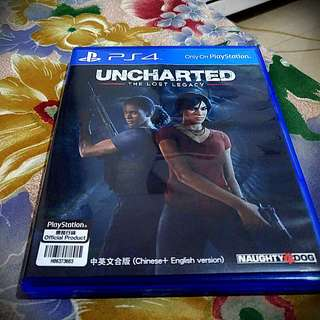 BD PS4 Uncharted Lost Legacy