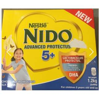 Unopened in Box NIDO 5+ 1.2KG