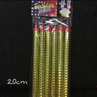 [AVAILABLE] 20cm Birthday Candle Sparklers