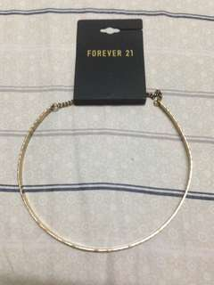 Forever 21 choker necklace