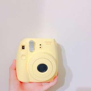 拍立得 Fujifilm mini 8(黃色)