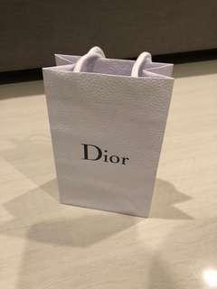 Dior Paper Bag Small