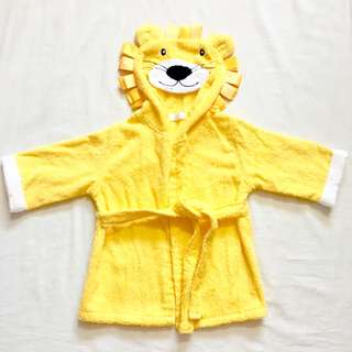 [NEW] Lexikind Hooded Yellow Lion Baby Towel