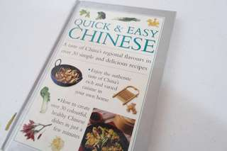 Quick and Easy Chinese Cooking Book