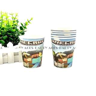 💥 Minecraft party supplies - party cups
