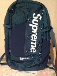 Supreme 17ss Backpack teal