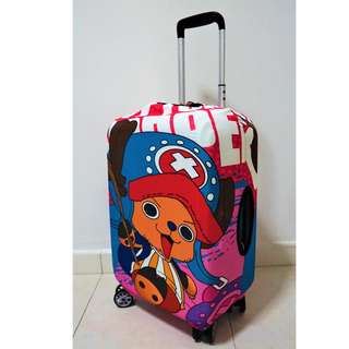 Chopper One Piece Luggage Cover Travel Protector