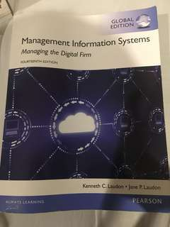 Management Information System (Managing the Digital Firm) 4th Ed. PEARSON