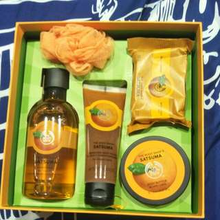 Body Shop Gift Set - Satsuma