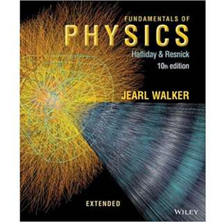 Fundamentals of Physics (Extended 10th Edition) (1450 Page Mega Full Colored eBook)