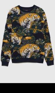 Zara man top edisi animal