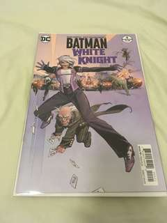 Batman white knight 4 Variant