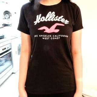 Hollister Black T-shirt 黑色T卹