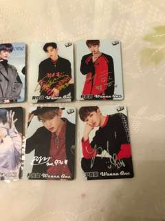 Wanna one Yes Card
