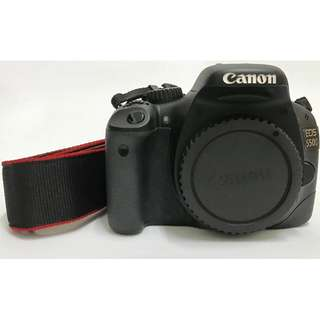 Canon EOS 550D Body Free Camera Bag, 8GB Memory Card, Battery and Charge