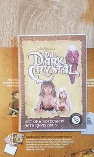 Lootcrate exclusive The Dark Crystal Notecards