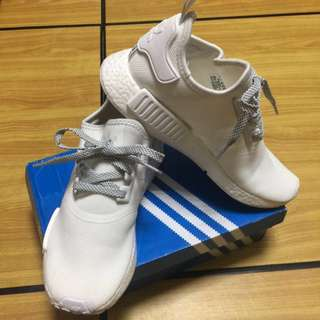 adidas NMD R1 REFLECTIVE PACK 白反光運動鞋