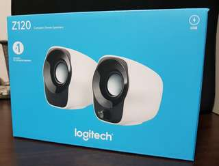 Logitech Z120 Compact Stereo Speakers