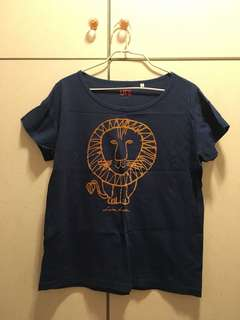 Uniqlo Navy Blue T-shirt