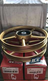 Velg rcb yamaha legenda/jupi(140x160x17)gold-Matt black